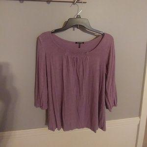 Daisy Fuentes 3/4 sleeve shirt